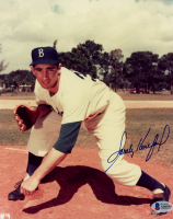 Sandy Koufax Signed Dodgers 8x10 Photo (Beckett LOA) at PristineAuction.com