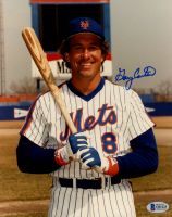 Gary Carter Signed Mets 8x10 Photo (Beckett COA) at PristineAuction.com