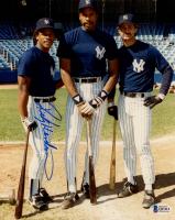 Rickey Henderson Signed Yankees 8x10 Photo (Beckett COA) at PristineAuction.com