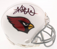 Kurt Warner Signed Cardinals Mini Helmet (JSA COA) at PristineAuction.com