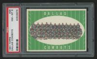 Dallas Cowboys Team 1961 Topps #28 (PSA 8) at PristineAuction.com