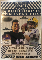 2020 Sage Hit High Series Football Blaster Box at PristineAuction.com