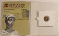 Valentinian II Roman Bronze Coin AD 375-392 at PristineAuction.com