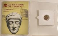 Theodosius II Roman Bronze Coin AD 402-450 at PristineAuction.com