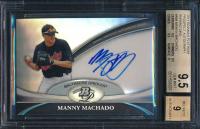 Manny Machado 2011 Bowman Platinum Prospect Autograph Refractors #MM (BGS 9.5) at PristineAuction.com