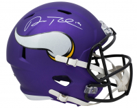 Adam Thielen Signed Vikings Full-Size Speed Helmet (Beckett COA) at PristineAuction.com