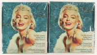 Lot of (2) 1993 Marilyn Monroe Trading Cards Box with (36) Packs Each at PristineAuction.com