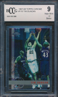Tim Duncan 1997-98 Topps Chrome #115 RC (BCCG 9) at PristineAuction.com