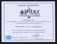 Ken Norton Signed 17x22 Lithograph with Original Handprints (SOP COA) at PristineAuction.com