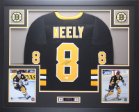 Cam Neely Signed 35x43 Custom Framed Jersey (JSA COA) at PristineAuction.com