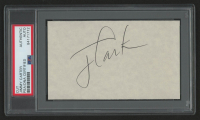 Jimmy Carter Signed 3x5 Index Card (PSA Encapsulated) at PristineAuction.com