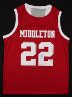 Khris Middleton Signed Texas A & M Aggies Jersey (PSA COA) at PristineAuction.com