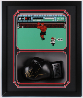 Mike Tyson Signed 22x26x5 Custom Framed Everlast Boxing Glove Shadowbox Display (Fiterman Hologram) at PristineAuction.com