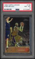 1996-97 Topps Chrome #138 Kobe Bryant RC (PSA 8) at PristineAuction.com