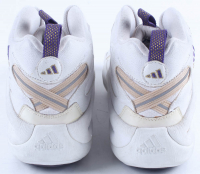 Kobe Bryant Signed Game Used Pair of Adidas Basketball Shoes (Mears LOA & JSA LOA) at PristineAuction.com