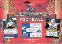 2019 Leaf Ultimate Football Hobby Box at PristineAuction.com