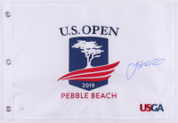 Gary Woodland Signed 2019 Pebble Beach U.S. Open Pin Flag (JSA COA) at PristineAuction.com