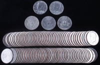 Lot of (100) Kennedy Half-Dollar Coins at PristineAuction.com