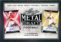 2019 Leaf Metal Draft Hobby at PristineAuction.com
