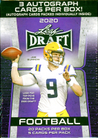 2020 Leaf Draft Football Hobby Box at PristineAuction.com