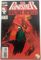 "Stan Lee Signed 1994 ""The Punisher: Holiday Special"" Issue #2 Marvel Comic Book (Lee COA) at PristineAuction.com"
