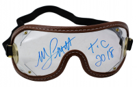 "Mike Smith Signed Jockey Goggles Inscribed ""X.C 2018"" (JSA COA) at PristineAuction.com"