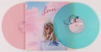 "Taylor Swift Signed ""Lover"" Vinyl Record Album Cover (JSA COA) at PristineAuction.com"