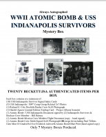 "Always Autographed  ""WWII Atomic Bomb & USS Indianapolis"" Mystery Box at PristineAuction.com"