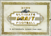 2020 Leaf Ultimate Draft Football Hobby Box at PristineAuction.com