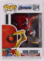 "Tom Holland Signed ""Avengers: Endgame"" #574 Iron Spider Bobble-Head Funko Pop Vinyl Figure (JSA COA) at PristineAuction.com"