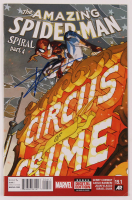 "Tom Holland Signed 2015 ""The Amazing Spider-Man: Spiral Part 4"" Issue #19.1 Digital Edition Marvel Comic Book (JSA COA) at PristineAuction.com"