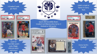Sports Memorabilia Boxes, LLC Presents: 5 Graded Card Mystery Box. Legend in every box! (Series 3) at PristineAuction.com