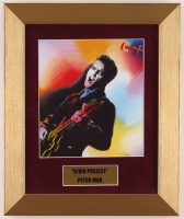 "Peter Max ""Elvis Presley"" 10x12 Custom Framed Print Display at PristineAuction.com"