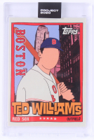 Ted Williams 2020 Topps Project 2020 #34 / Fucci at PristineAuction.com