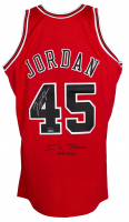 Michael Jordan Signed Bulls Majestic Jersey (UDA COA) at PristineAuction.com