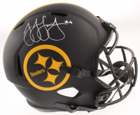 JuJu Smith-Schuster Signed Steelers Full-Size Eclipse Alternate Speed Helmet (Beckett COA) at PristineAuction.com