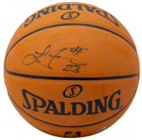 LeBron James Signed Official NBA Game Ball (PSA Hologram) at PristineAuction.com