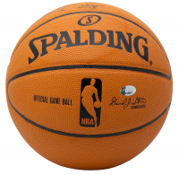 LeBron James Signed Official NBA Game Ball (PSA Hologram) at PristineAuction.com