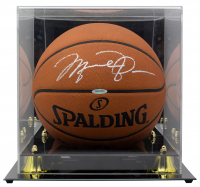 Michael Jordan Signed Official NBA Game Ball With High Quality Display Case (UDA COA) at PristineAuction.com