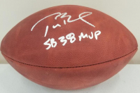 "Tom Brady Signed ""The Duke"" NFL Official Game Ball Inscribed ""SB 38 MVP"" (TriStar Hologram) at PristineAuction.com"