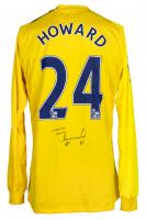 """Tim Howard Signed Everton Umbro Jersey Inscribed """"EFI"""" (JSA COA & Howard Hologram) at PristineAuction.com"""