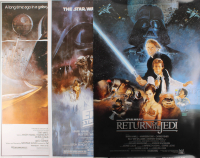 "Lot of (3) ""Star Wars"" 26x40 Movie Posters at PristineAuction.com"