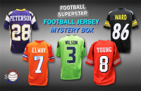 Schwartz Sports Football Superstar Signed Mystery Box Football Jersey - Series 27 - (Limited to 100) at PristineAuction.com