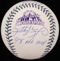 "Sammy Sosa Signed 1998 All-Star Game Baseball Inscribed ""98 NL MVP"" (Beckett COA) at PristineAuction.com"
