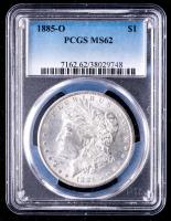 1885-O Morgan Silver Dollar (PCGS MS62) at PristineAuction.com