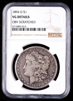1894-O Morgan Silver Dollar (NGC VG Details) at PristineAuction.com