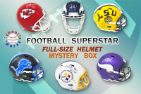 Schwartz Sports Football Superstar Signed Full Size Football Helmet Mystery Box – Series 12 (Limited to 75) at PristineAuction.com