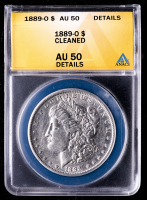 1889-O Morgan Silver Dollar (ANACS AU50 Details) at PristineAuction.com