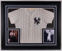 "Mickey Mantle & Billy Martin Signed Yankees 36x44 Custom Framed Display Inscribed ""Our Best"" (JSA LOA & PSA LOA) at PristineAuction.com"