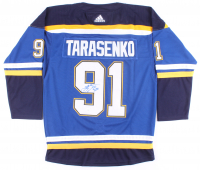 Vladimir Tarasenko Signed Blues Jersey (JSA COA) at PristineAuction.com